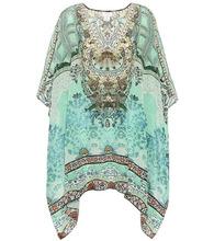 Camilla | Embellished printed silk kaftan | Clouty