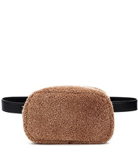 The Row | Shearling belt bag | Clouty