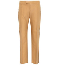 Chloé | Wool-blend straight-leg trousers | Clouty
