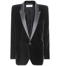 SAINT LAURENT | Velvet tuxedo jacket | Clouty