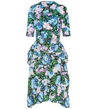 Balenciaga | Floral peplum dress | Clouty