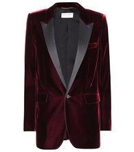 SAINT LAURENT | Velvet blazer | Clouty