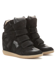 Isabel Marant | Bekett leather and suede sneakers | Clouty