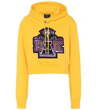 BALMAIN   x Beyonce cropped hoodie   Clouty