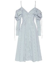 J.W. Anderson | Exclusive to mytheresa.com – off-the-shoulder cotton dress | Clouty