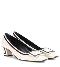 Roger Vivier | Belle Vivier Graphic leather pumps | Clouty