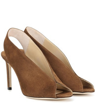 Jimmy Choo | Shar 85 suede sandals | Clouty