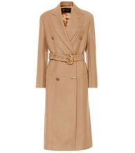 Versace | Double-breasted wool coat | Clouty