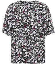 Acne Studios | Lejana floral-printed silk blouse | Clouty