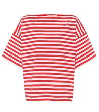 Marni | Striped cotton T-shirt | Clouty