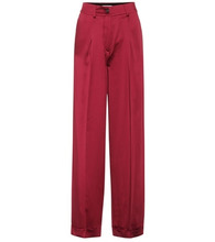 VALENTINO | Silk satin trousers | Clouty