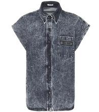 MIU MIU   Denim shirt   Clouty
