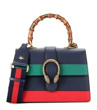GUCCI | Dionysus Bamboo Medium leather shoulder bag | Clouty