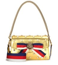 GUCCI | Broadway leather shoulder bag | Clouty