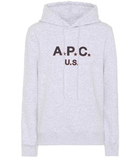 A.P.C. | U.S. cotton fleece hoodie | Clouty