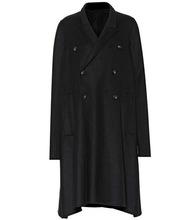 RICK OWENS   Wool-blend coat   Clouty