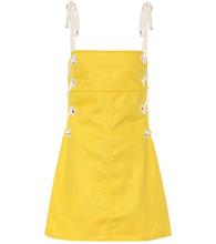 Staud | Raft linen-blend dress | Clouty