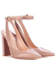 Gianvito Rossi | Exclusive to mytheresa.com – Roma leather pumps | Clouty