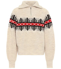 Isabel Marant | Curtis wool-blend sweater | Clouty