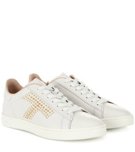 Tod's | Studded leather sneakers | Clouty