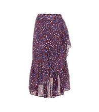 Ulla Johnson | Gretchen cotton and silk-blend skirt | Clouty
