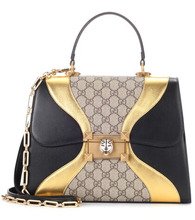 GUCCI | Linear G Feline leather tote | Clouty