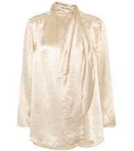 Acne Studios | Bodil satin blouse | Clouty