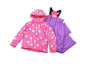 Valianly   Комплект Valianly (куртка+полукомбинезон) розовый, р.10/140   Clouty