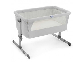 Chicco | Кроватка Chicco Next2Me Silver | Clouty
