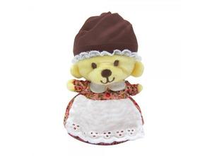 Cupcake Bears   Игрушка мяг. Cupcake Bears, Медвежонок в капкейке Коколина темно-коричневый/розовый   Clouty