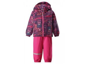 Lassie | Комплект Lassie (куртка+полукомбинезон) 4681/темно-розовый, р.80 | Clouty