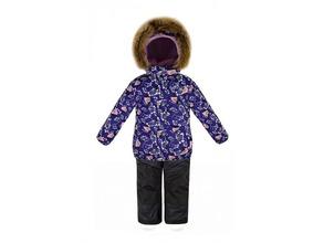 Reike | Комплект Reike для девочки (куртка+брюки) фиолетовый, р.104-56(28) | Clouty
