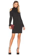 360 Sweater | Вязаное платье с открытыми плечами ivana - 360 Sweater | Clouty