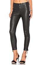 Blank NYC   Узкие джинсы на шнуровке - BLANKNYC   Clouty