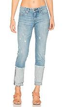 Blank NYC   Прямые джинсы с манжетами - BLANKNYC   Clouty