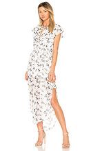 Elliatt   Платье с запахом flora - ELLIATT   Clouty