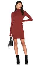 Enza Costa   Платье из кашемира с длинным рукавом и высоким воротом - Enza Costa   Clouty