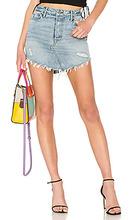 Grlfrnd | Джинсовая юбка высокая талия tina - GRLFRND | Clouty