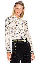 Hilfiger Collection | Блуза с шалевым воротником и длинным рукавом - Hilfiger Collection | Clouty