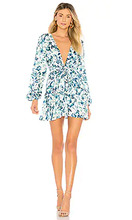 Majorelle | Мини-платье с длинным рукавом berkshire - MAJORELLE | Clouty