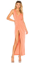 NBD | Вечернее платье подчеркивающее талию sangria - NBD | Clouty