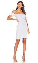 Nytt | Платье в рубчик с открытыми рукавами - NYTT | Clouty