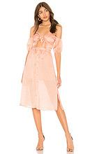 tularosa | Миди платье вырезы на плечах arlene - Tularosa | Clouty