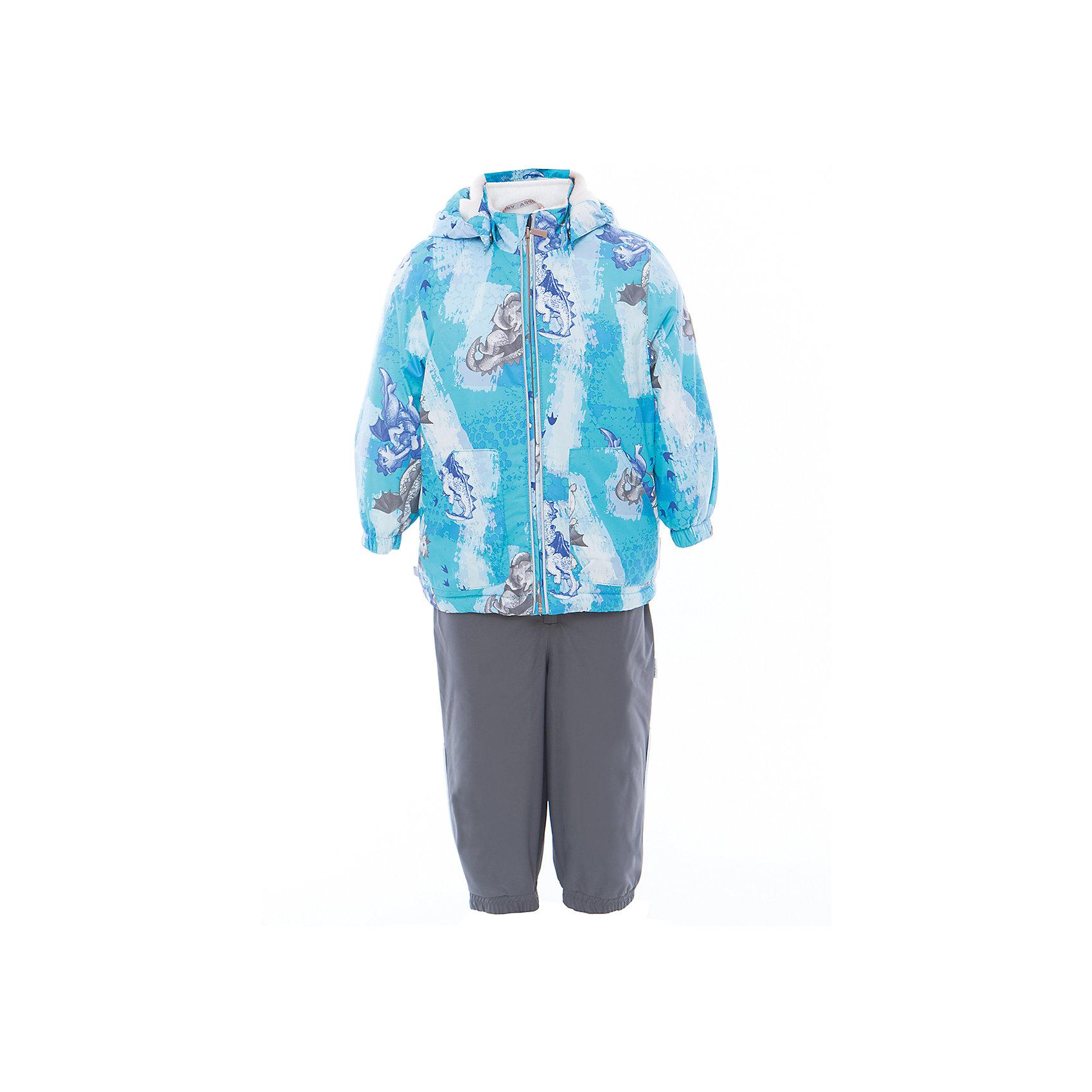 Huppa | Комплект: куртка и полукомбинезон для мальчика CARLO Huppa | Clouty