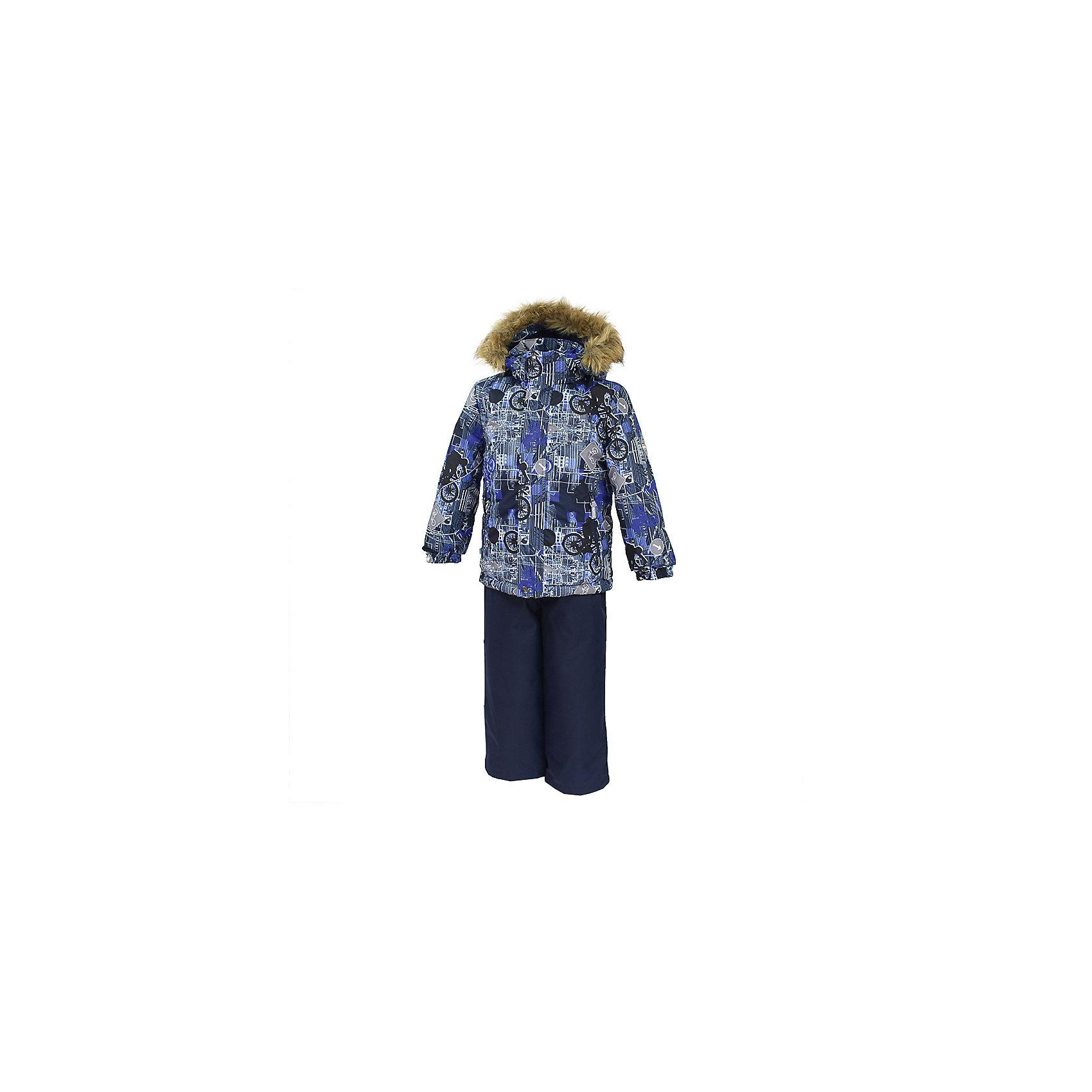 Huppa   Комплект: куртка и брюки DANTE 1 Huppa для мальчика   Clouty