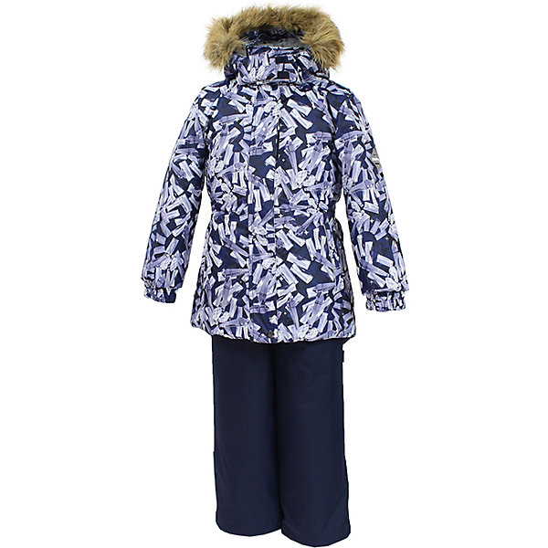 Huppa | Комплект: куртка и брюки RENELY Huppa для девочки | Clouty
