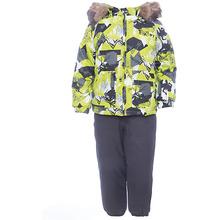 Huppa   Комплект: куртка и брюки WINTER Huppa для мальчика   Clouty