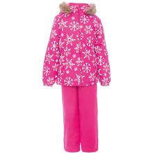 Huppa | Комплект: куртка и брюки WONDER Huppa для девочки | Clouty