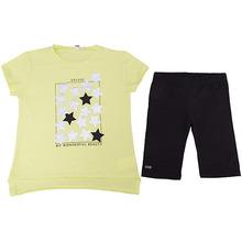 Ido | Комплект: футболка, шорты iDO для девочки | Clouty