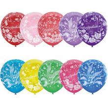 """Latex Occidental   Воздушные шары Latex Occidental """"Праздничная тематика. Цветы"""" 25 шт., пастель + декоратор   Clouty"""